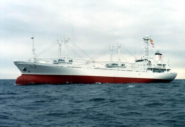 鋼製冷凍運搬船